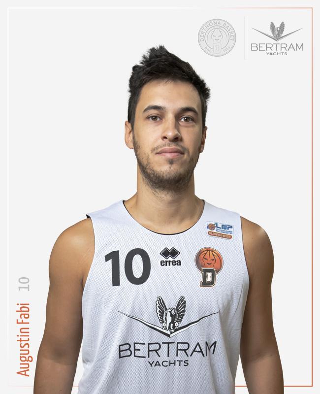10 Fabi Agustin, Derthona Basket