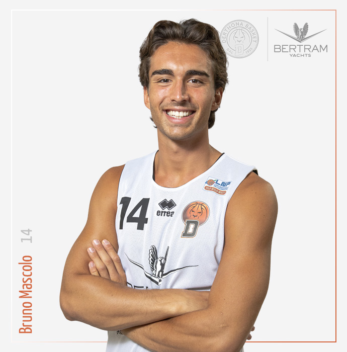 14 Mascolo Bruno, Derthona Basket