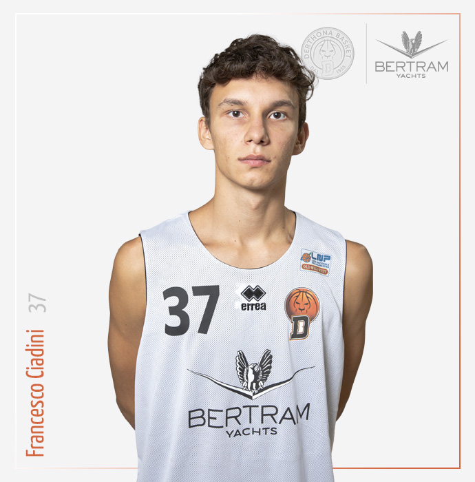 37 Ciadini Francesco, Derthona Basket