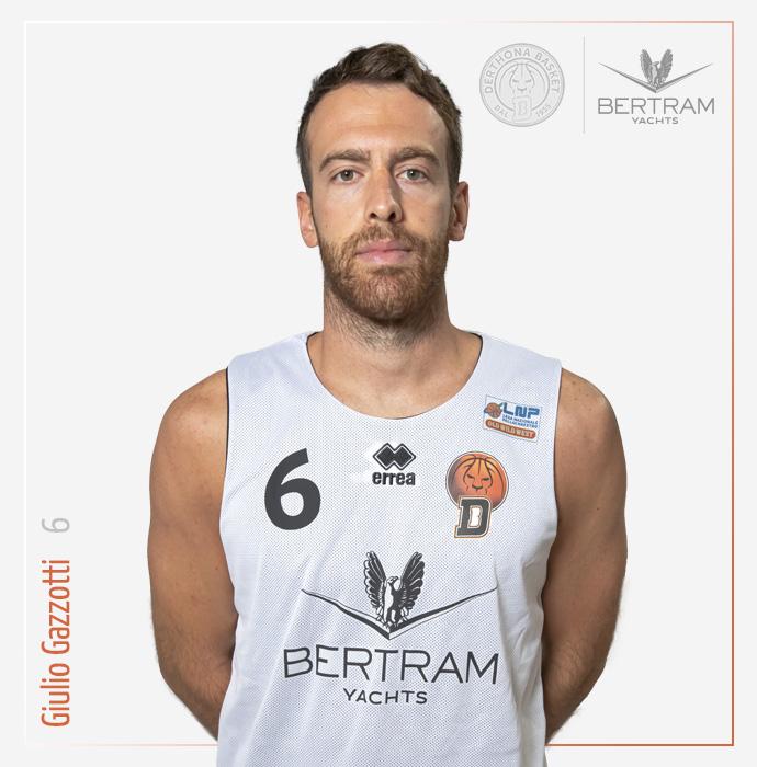 6 Gazzotti Giulio, Derthona Basket
