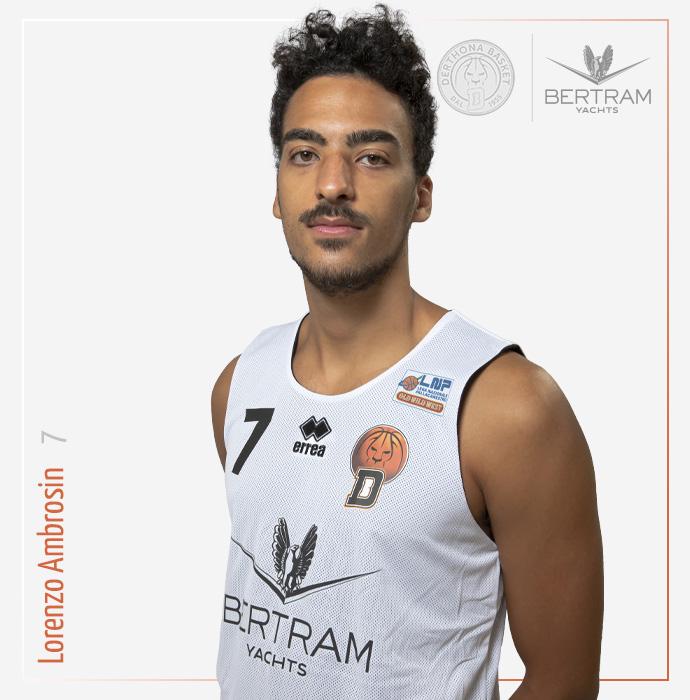 7 Ambrosin Lorenzo, Derthona Basket