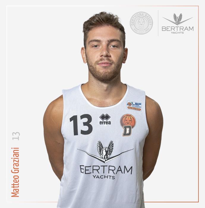 13 Graziani Matteo, Derthona Basket