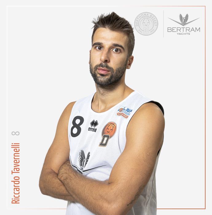 8 Tavernelli Riccardo, Derthona Basket