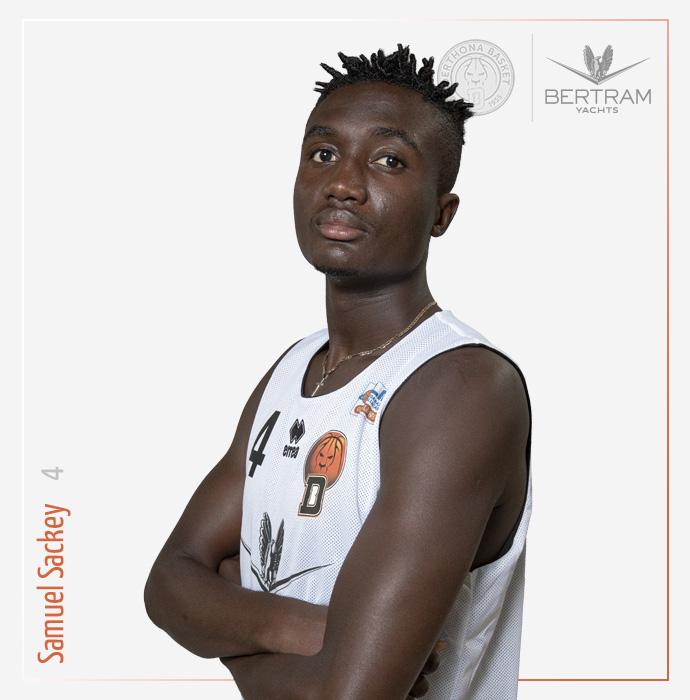 4 Sackey Samuel, Derthona Basket