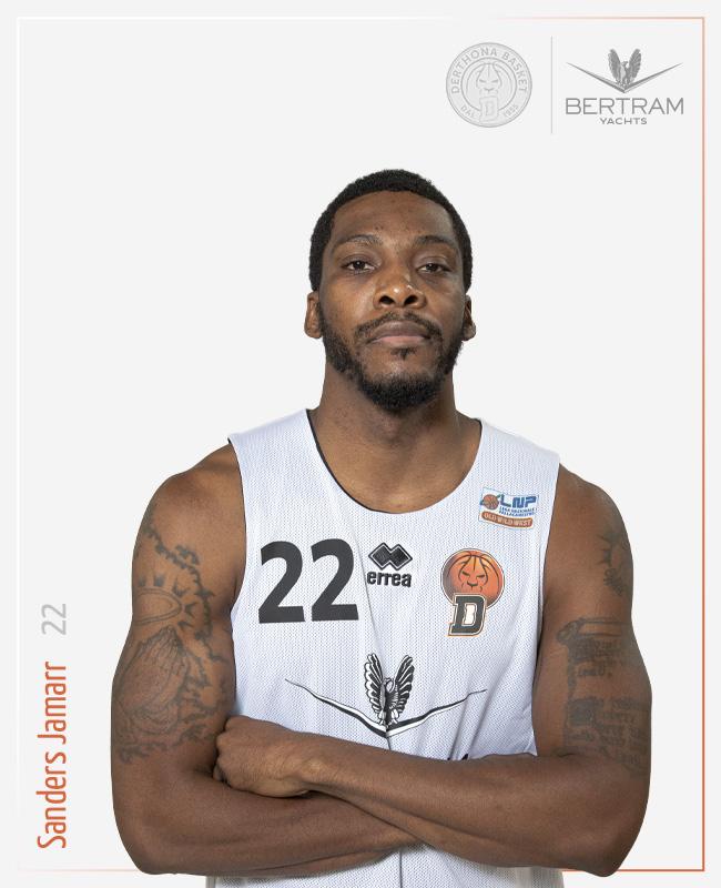 22 Sanders Jamarr, Derthona Basket