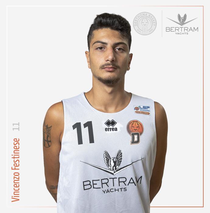 11 Festinese Vincenzo, Derthona Basket