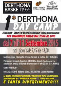 DERTHONA Day Camp 2015 - DerthonaBasket.it