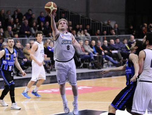 Gioria sottomano - Derthona Basket