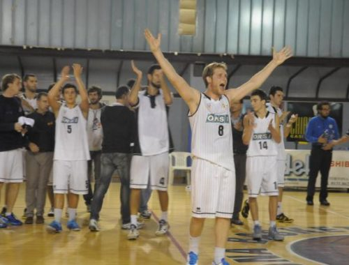 Gioria esulta - Derthona Basket