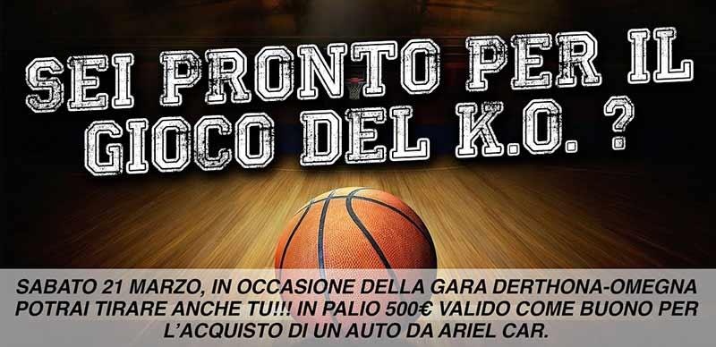 K.O. Basket - Evento Ariel Car, Derthona Basket