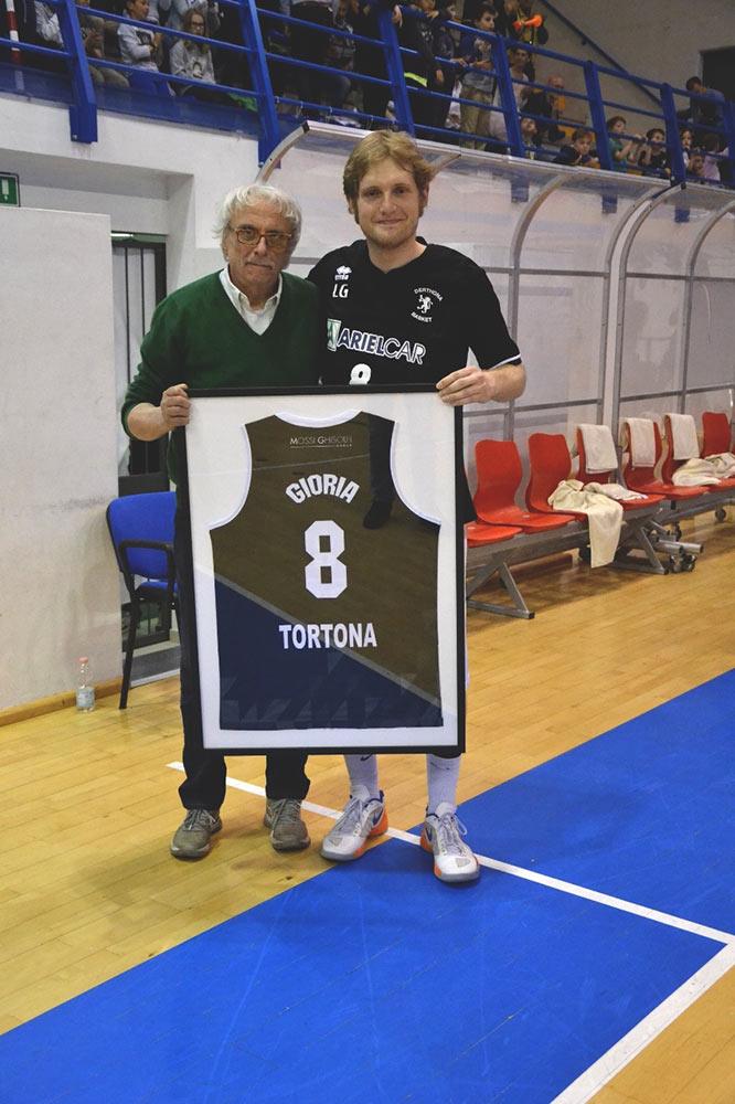 Derthona Basket - Leone Gioria e Luigino Fassino