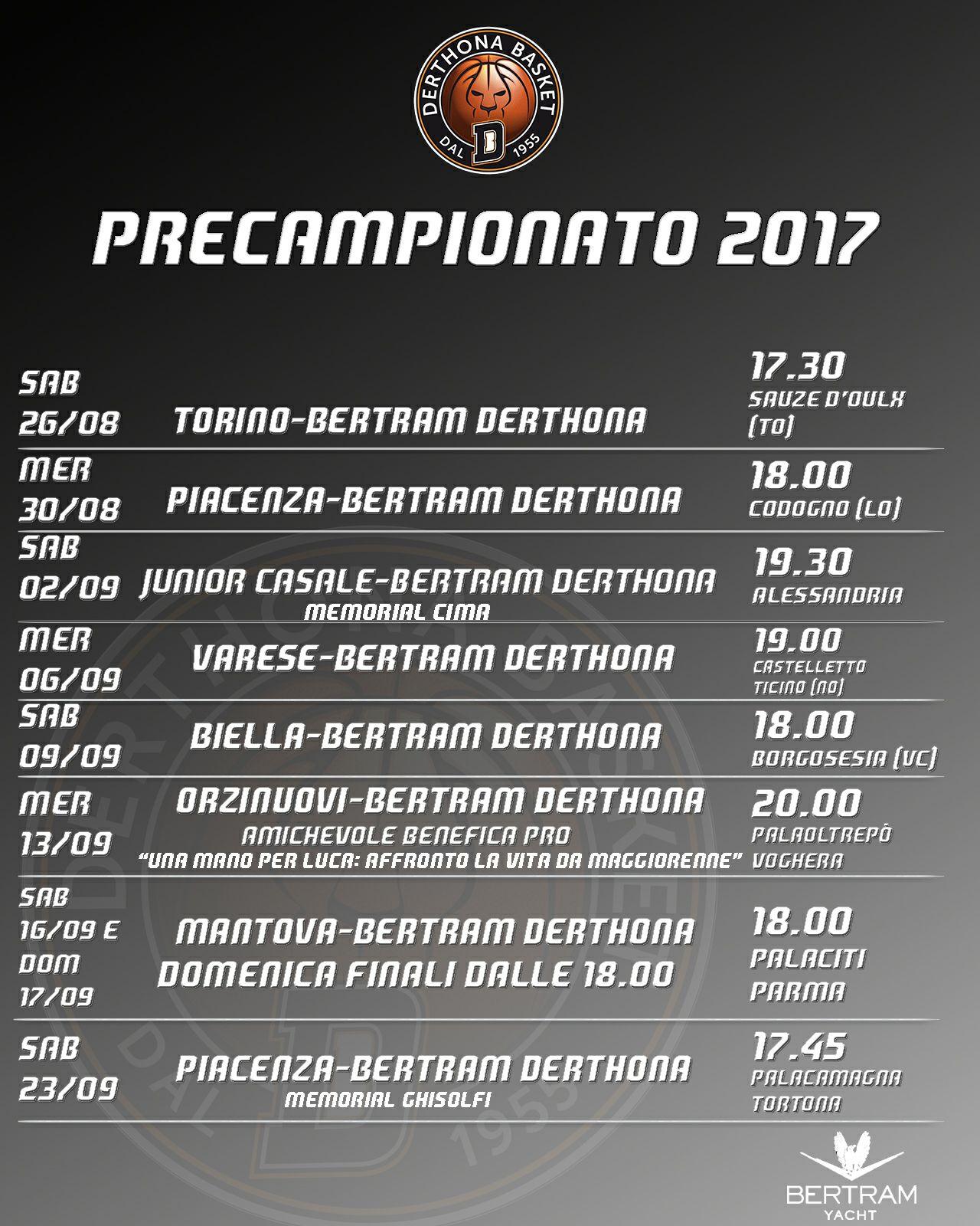 PreCampionato 2017