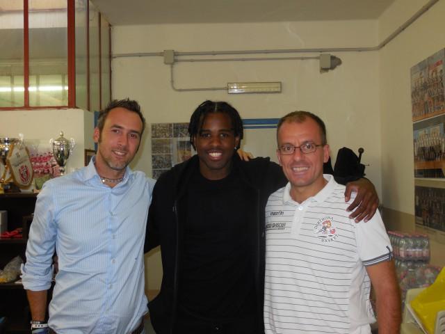 Ramon Galloway, Marco Picchi; coach Cavina, Derthona Basket