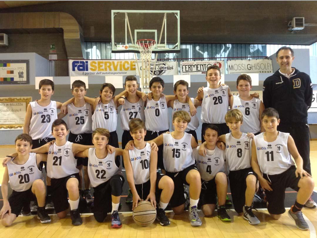 Under 13 2015/2016 - Derthona Basket