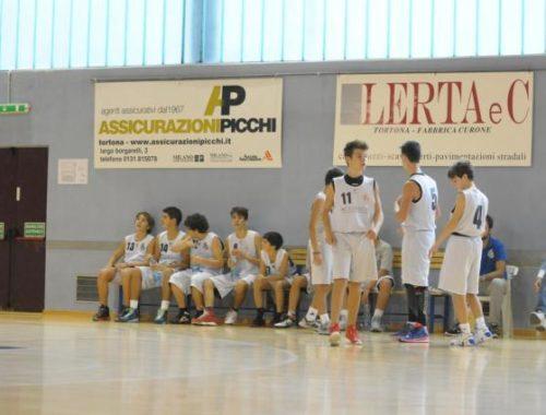 Under 15 2014 panchina - Derthona Basket