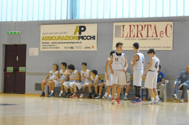 Under 15 2014 panchina - Derthona Basket