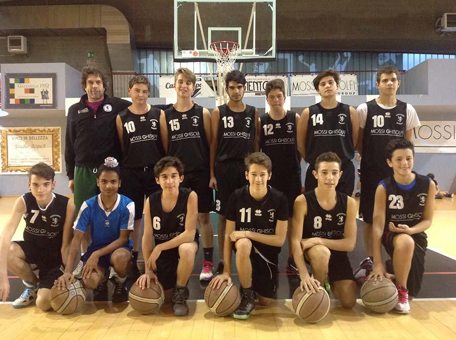 Under 15 2015/2016 - Derthona Basket
