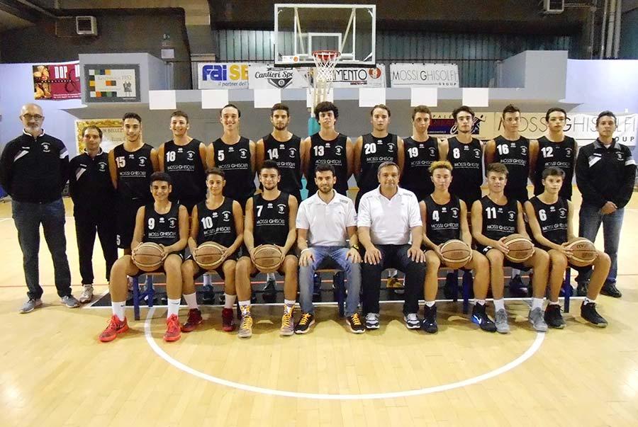 Under 18 Eccellenza 2015/2016 - Derthona Basket