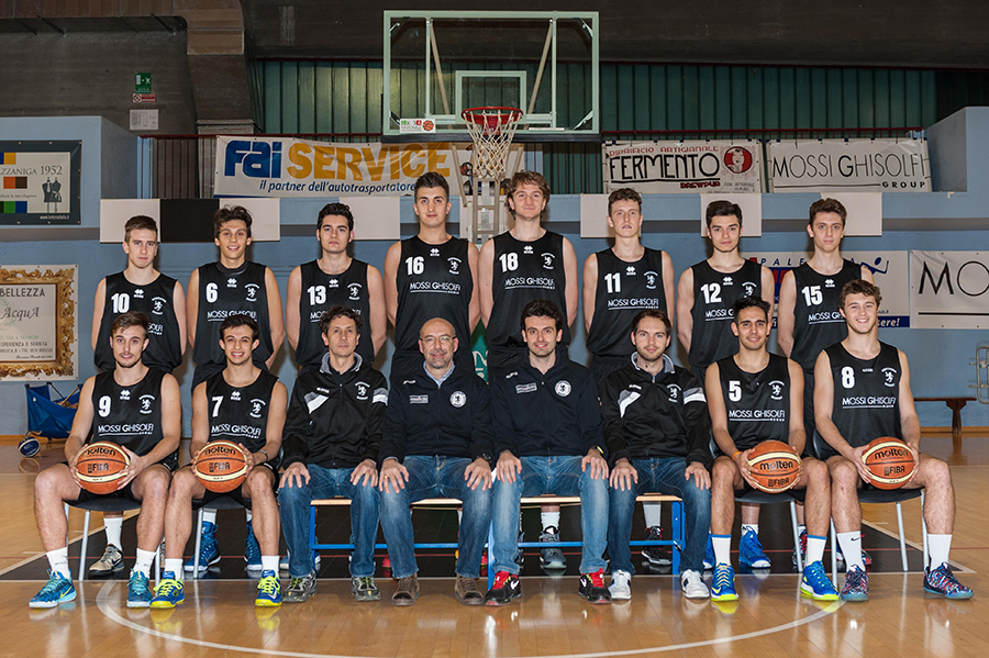 Under 19 ufficiale bis 2014-2015 Derthona Basket
