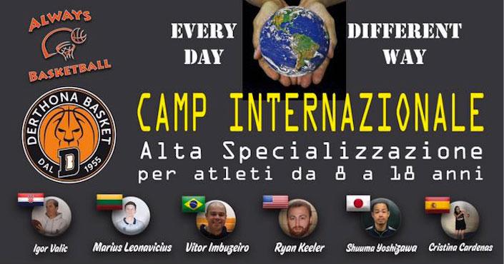 camp internazionale