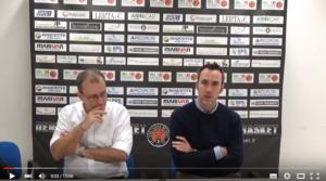 conferenza stampa Derthona Basket Npc Rieti