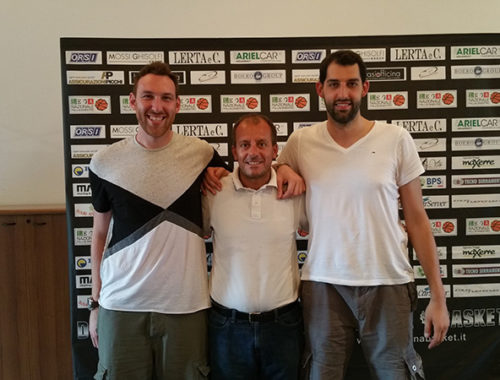 conferenza stampa Derthona Basket
