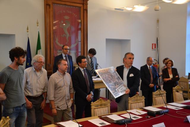 Derthona Basket in consiglio comunale Tortona
