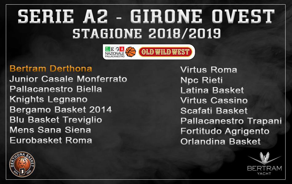 Girone ovest 2018-2019