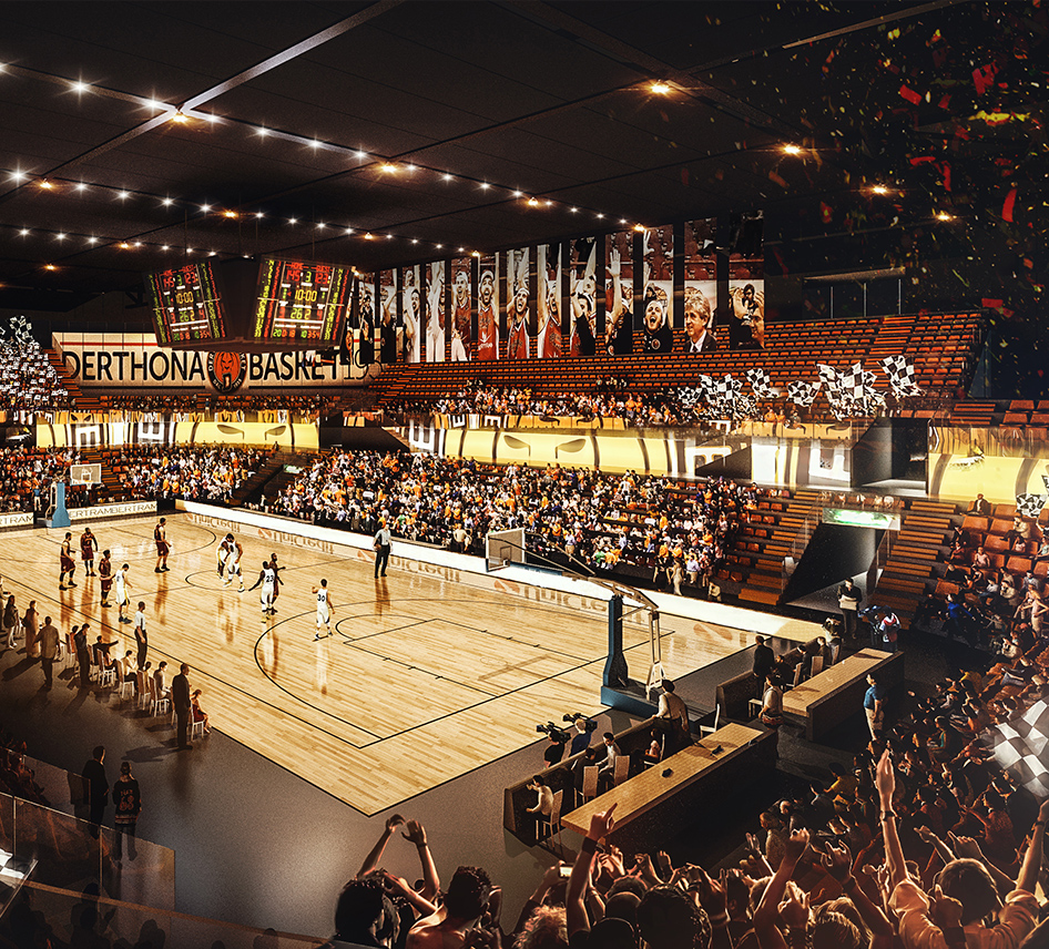 Progetto Cittadella dello Sport - Derthona Basket
