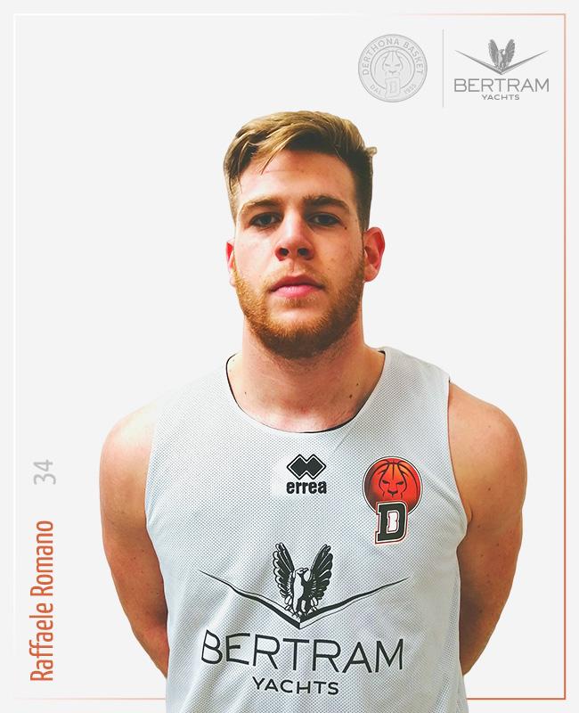 34 Romano Raffaele, Derthona Basket