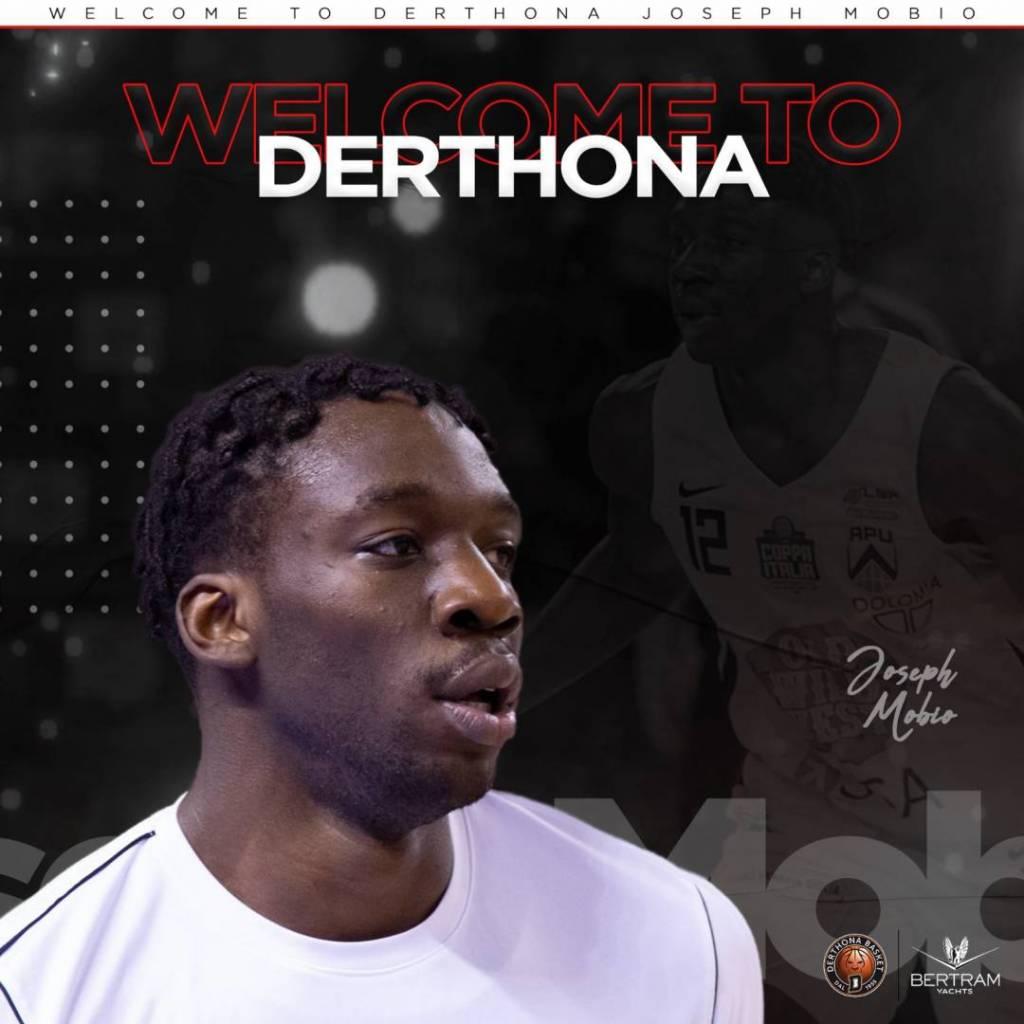 Derthona Basket firma Joseph Mobio
